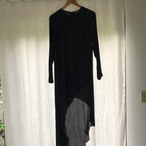 BCBG Max Azria Size XS Black Asymmetrical Dress